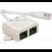 Hypertec 252470-HY cable splitter/combiner White