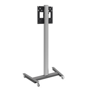 "AG Neovo FMC-02 55"" Portable Black,Silver flat panel floorstand"