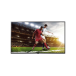 "LG 43UT640S0ZA signage display 109.2 cm (43"") LED 4K Ultra HD Digital signage flat panel Black"