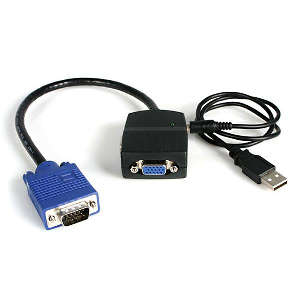 Vga Video Splitter - USB Powered 2 Port