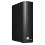 Western Digital WD Elements Desktop Externe Festplatte 2000 GB Schwarz