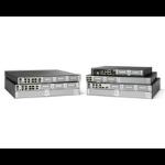 Cisco ISR4221-SEC/K9 wired router Gigabit Ethernet Black, Grey