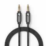 Swiss Mobility SCAUXA-M 1.2m 3.5mm 3.5mm Grey audio cable