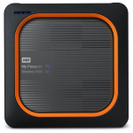 Western Digital My Passport 250GB Wi-Fi Grey, Orange
