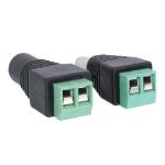 Lindy 70215 cable gender changer DC Jack Black, Green