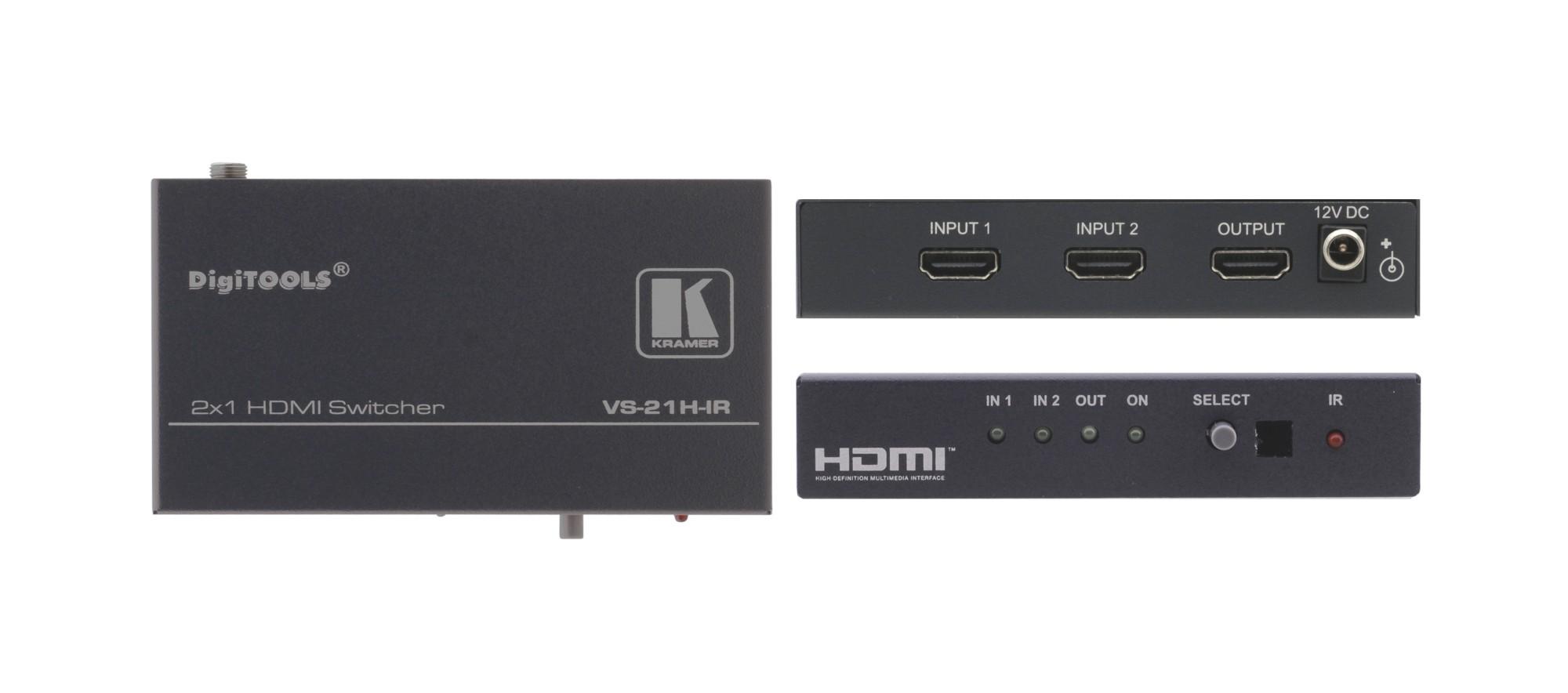 Kramer Electronics VS-21H-IR HDMI video switch