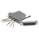 C2G 10-pin RJ45/DB25M Modular Adapter Grey