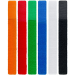 Microconnect CABLEMANA-9 cable organizer Black,Blue,Green,Orange,Red,White 6 pc(s)