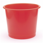 Q-CONNECT Q CONNECT WASTE BIN 15 LITRE RED