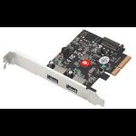 Siig JU-P20912-S2 interface cards/adapter USB 3.2 Gen 2 (3.1 Gen 2) Internal