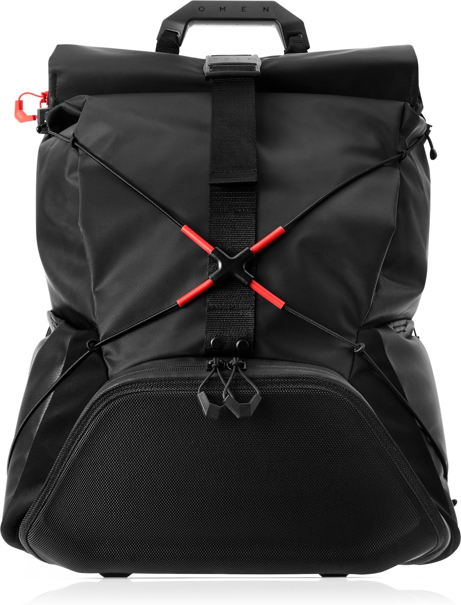 HP OMEN X by Transceptor Backpack notebook case 43.2 cm (17