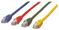 MCL Cable RJ45 Cat5E 0.5 m Green cable de red 0,5 m Verde