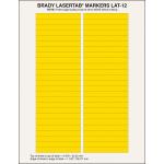 Brady LaserTab Yellow Self-adhesive printer label
