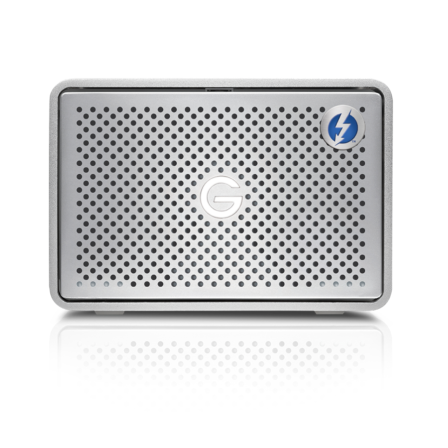 G-Technology G-RAID HDD enclosure Silver