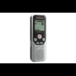 Philips DVT1250 dictaphone Internal memory & flash card Black,Grey