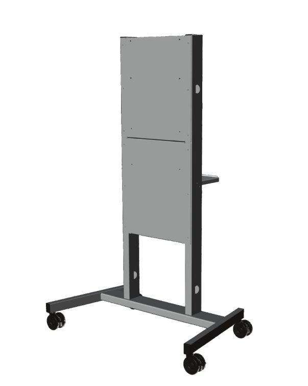 "Promethean ActivPanel Adjustable Stand 400 190.5 cm (75"") Portable flat panel floor stand Grey"