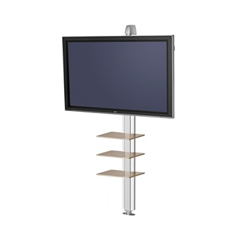 "SMS Smart Media Solutions X WFH S1955 W/S 55"" Aluminium, White"