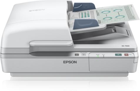 Epson WorkForce DS-7500 600 x 2400 DPI Flatbed scanner White A4