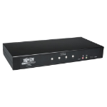 Tripp Lite 4-Port Secure KVM Switch DVI / USB with Audio NIAP-Certified (EAL 2+)