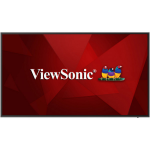 """Viewsonic CDE6520 signage display Digital signage flat panel 165.1 cm (65"""") IPS 4K Ultra HD Black Built-in processor Android 8.0"""