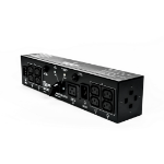 Vertiv 2U MicroPod External maintenance Bypass power distribution unit (PDU) Black 19 AC outlet(s)