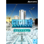 Paradox Interactive Cities: Skylines - Snowfall Video Game Downloadable Content (DLC) PC/Mac/Linux