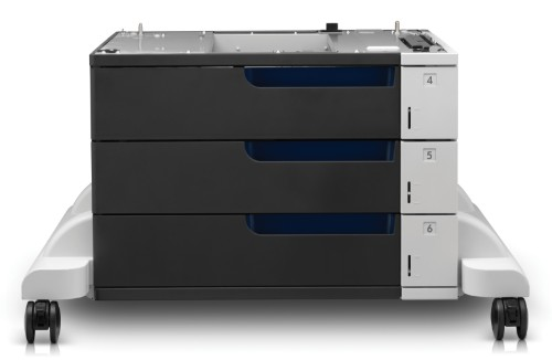 HP LaserJet 3x500-sheet Paper Feeder and Stand