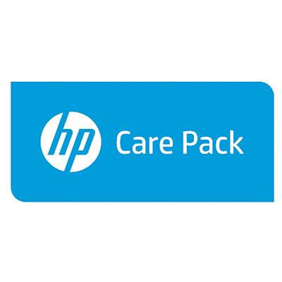 Hewlett Packard Enterprise HP 4 años siguiente día laborable adv. Intercambio de estación de acoplamiento SVC
