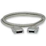 "Black Box DB15/DB15, 6-m serial cable Grey 236.2"" (6 m)"