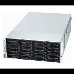 Supermicro 847E1C-R1K28JBOD Rack 1280W Black computer case