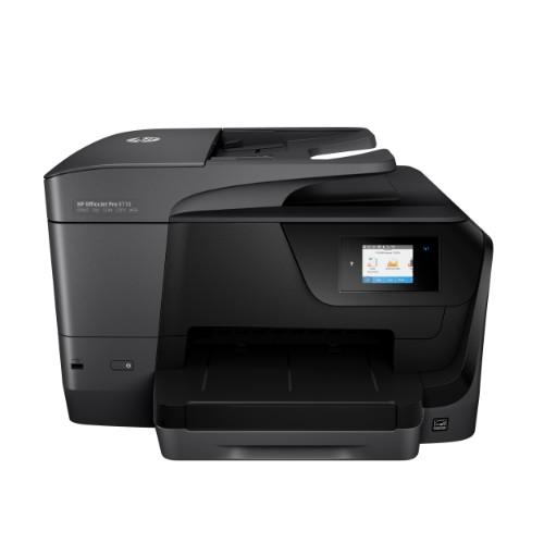 HP OfficeJet Pro 8710 Thermal Inkjet 22 ppm 4800 x 1200 DPI A4 Wi-Fi
