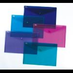 Snopake PolyFile - A4+(Foolscap) Electra Purple A4+