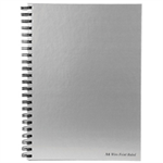 Pukka Pad Silver Ruled Wirebound Notebook 160 Pages A4 (5 Pack) WRULA4
