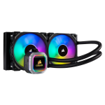 Corsair H100i liquid cooling Processor