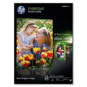 HP Everyday Glossy Photo Paper-25 sht/A4/210 x 297 mm photo paper