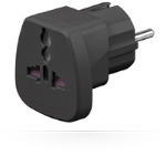 Microconnect PETRAVEL-B power adapter/inverter Black