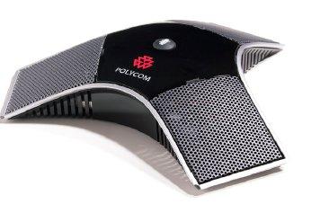 Polycom 2215-23327-001 microphone Black,Silver