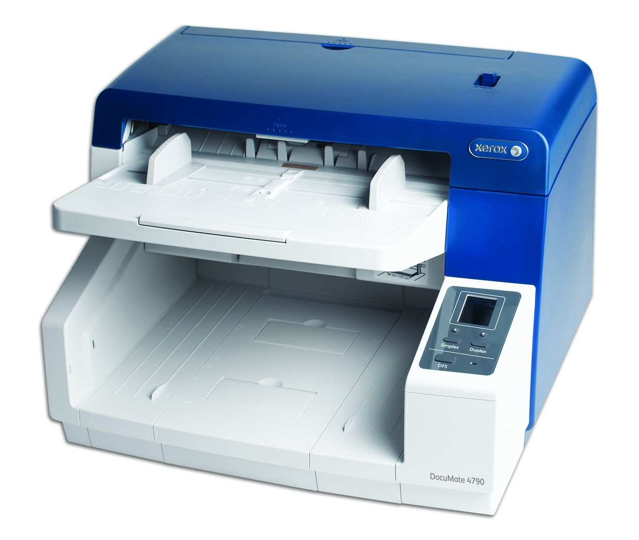 Xerox DocuMate 4790 Sheetfed A3 Scanner, Duplex A3, 90Ppm/180Ipm, 200 Sheet Adf, Usb 2.0, 600Dpi, Visioneer One Touch Scanning, Twain & Isis Driver, 24Bit Colour, Kofax Vrs Standard Software Included, 220V. Duty Cycle 10,000 Pages Per Day. Windows Only.