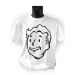 FALLOUT Vault Boys Face Extra Large T-Shirt, White (GE1208XL)
