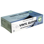 Wallace LATEX GLOVES DISPOSABLE MED P100