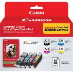 Canon PGI-220/CLI-221 Combo + PP-201
