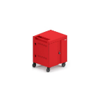 Bretford TVC16 Portable device management cart Red