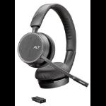 POLY 4220 UC Headset Head-band Bluetooth Black