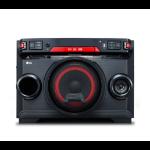 LG OK45 Minicadena de música para uso doméstico Negro, Rojo 220 W