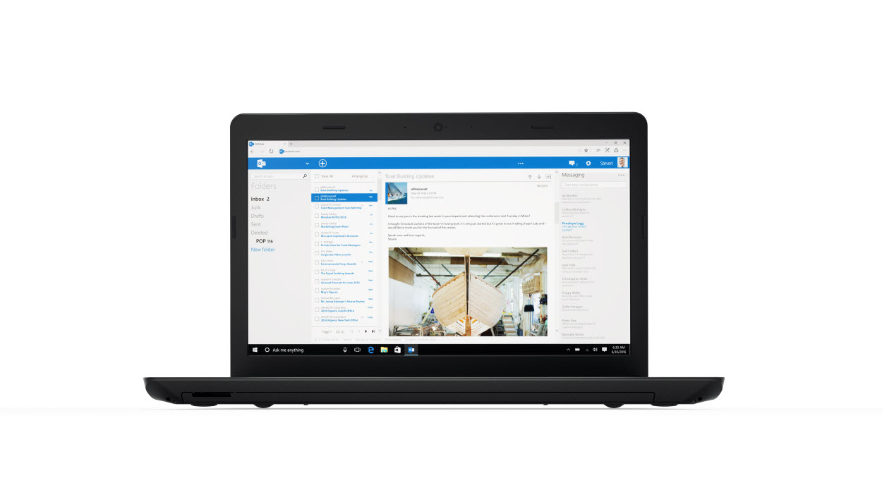 "Lenovo ThinkPad E570 2.00GHz i3-6006U 15.6"" 1366 x 768pixels Black Notebook"