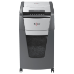 Rexel Optimum AutoFeed+ 225M paper shredder Micro-cut shredding 55 dB 23 cm Black, Silver