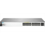 HP E 2530-24G-PoE+ 24 Ports Manageable Ethernet Switch - 2 Layer Supported - Twisted Pair - PoE Ports -