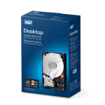 "Western Digital Desktop Performance 3.5"" 2000 GB Serial ATA III HDD"