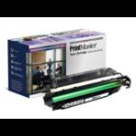 PrintMaster Black Toner Cartridge for HP Color LaserJet Pro CP 3520, CM 3530, Canon 7750
