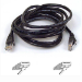 Belkin CAT 5 PATCH CABLE networking cable 5 m Black